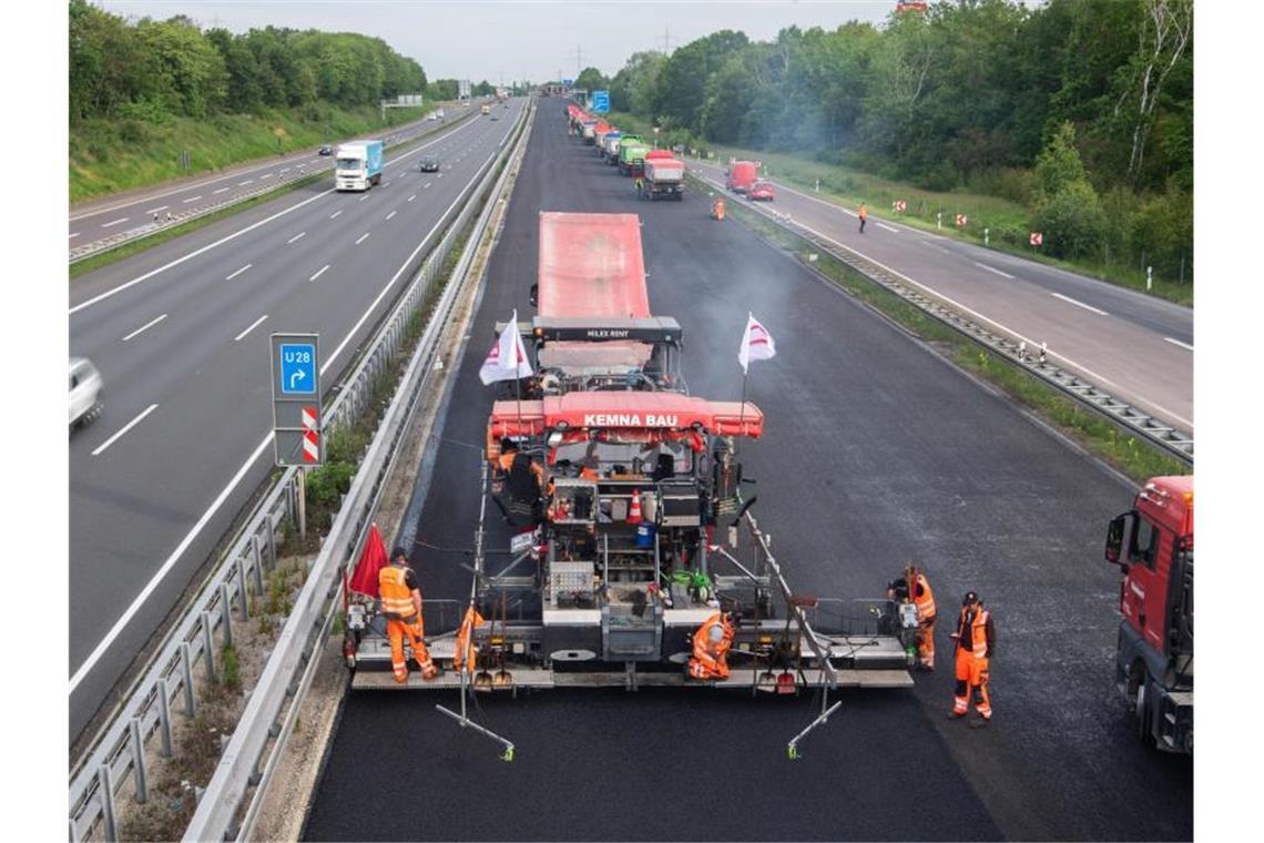 Baustellen Autobahn Baden Württemberg