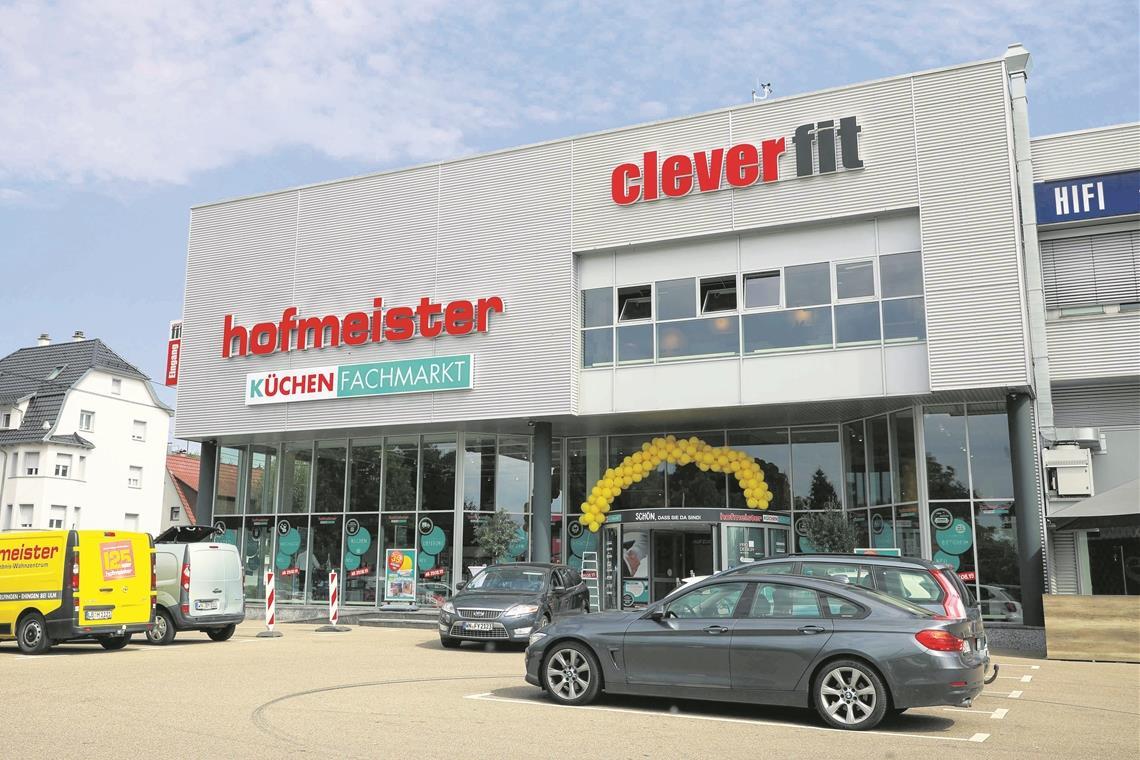 Hofmeister eröffnet heute Küchen-Fachmarkt