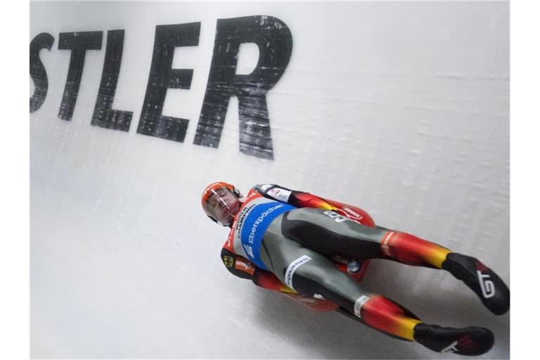 Felix Loch zeigte in Whistler eine starke Leistung. Foto: Jonathan Hayward/The Canadian Press/AP/dpa