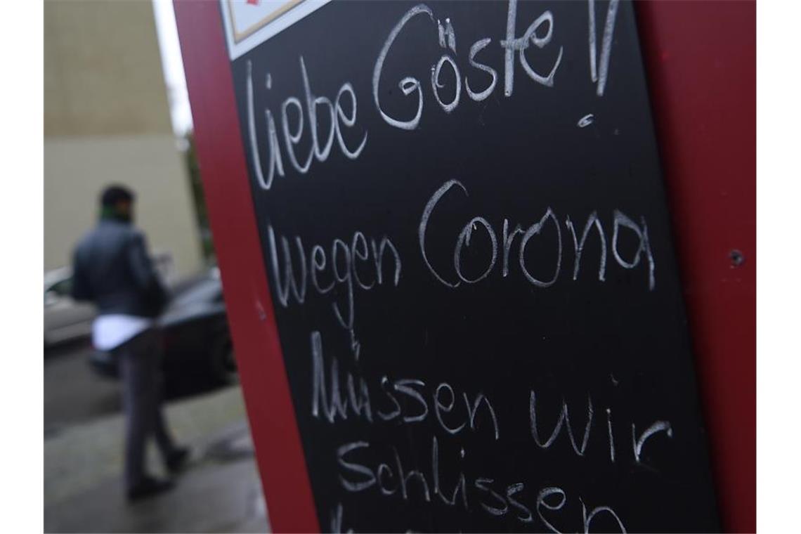 Deutschland Lockdown Beginn