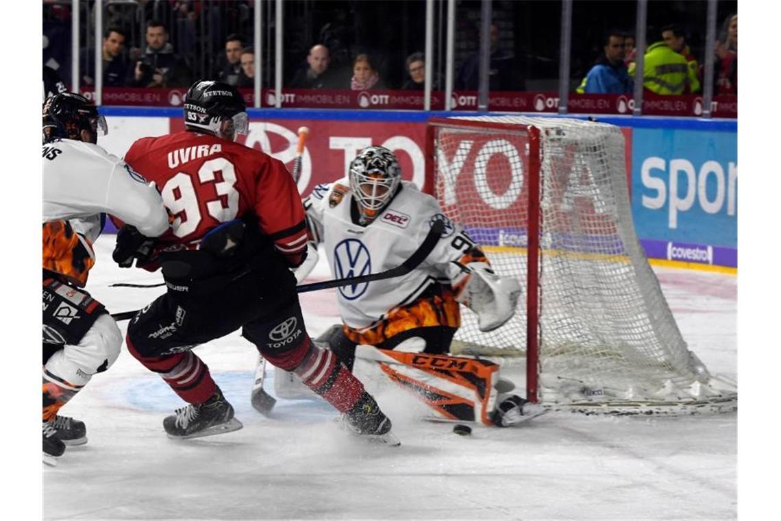 Eishockey Torwart