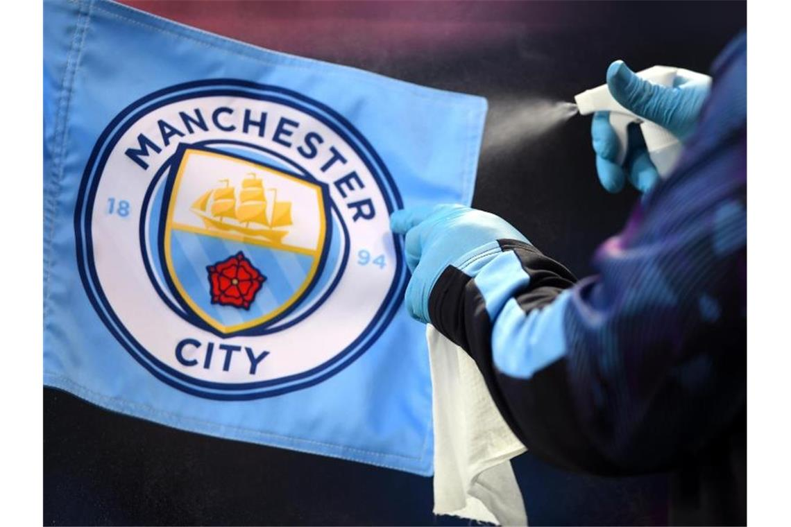 Manchester City weiter international spielen. Foto: Laurence Griffiths/Nmc Pool/PA Wire/dpa