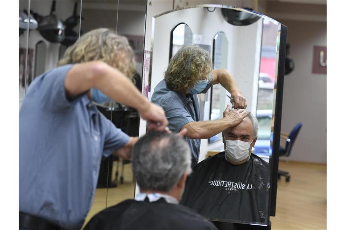 Schliessung Friseure