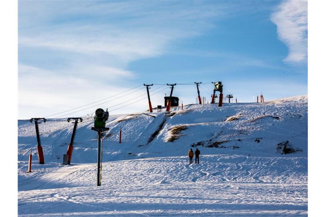 Schnee Am Feldberg