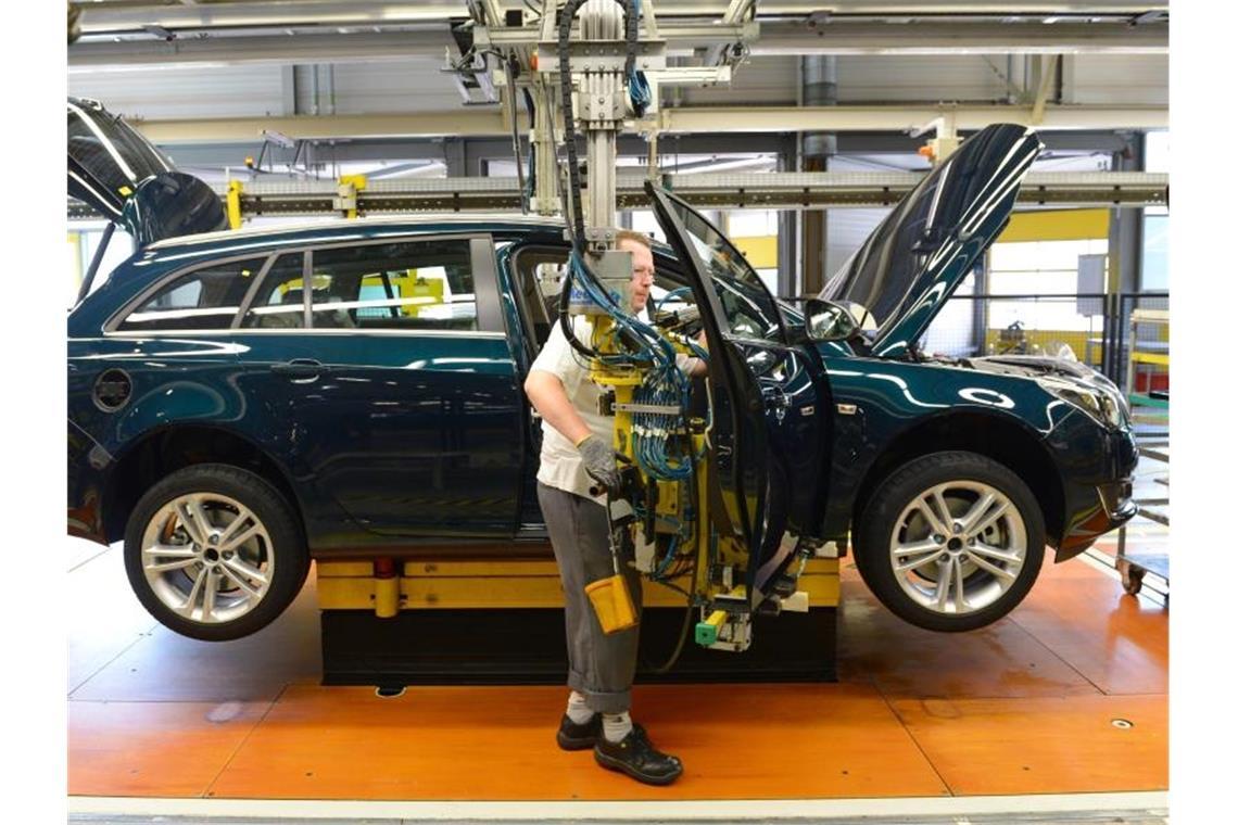 Kurzarbeit Opel