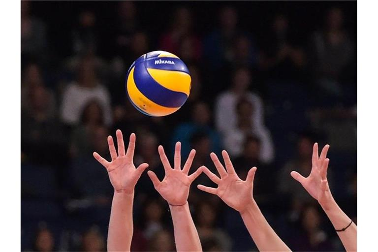 Volleyball. Foto: picture alliance / Silas Stein/dpa/Archivbild