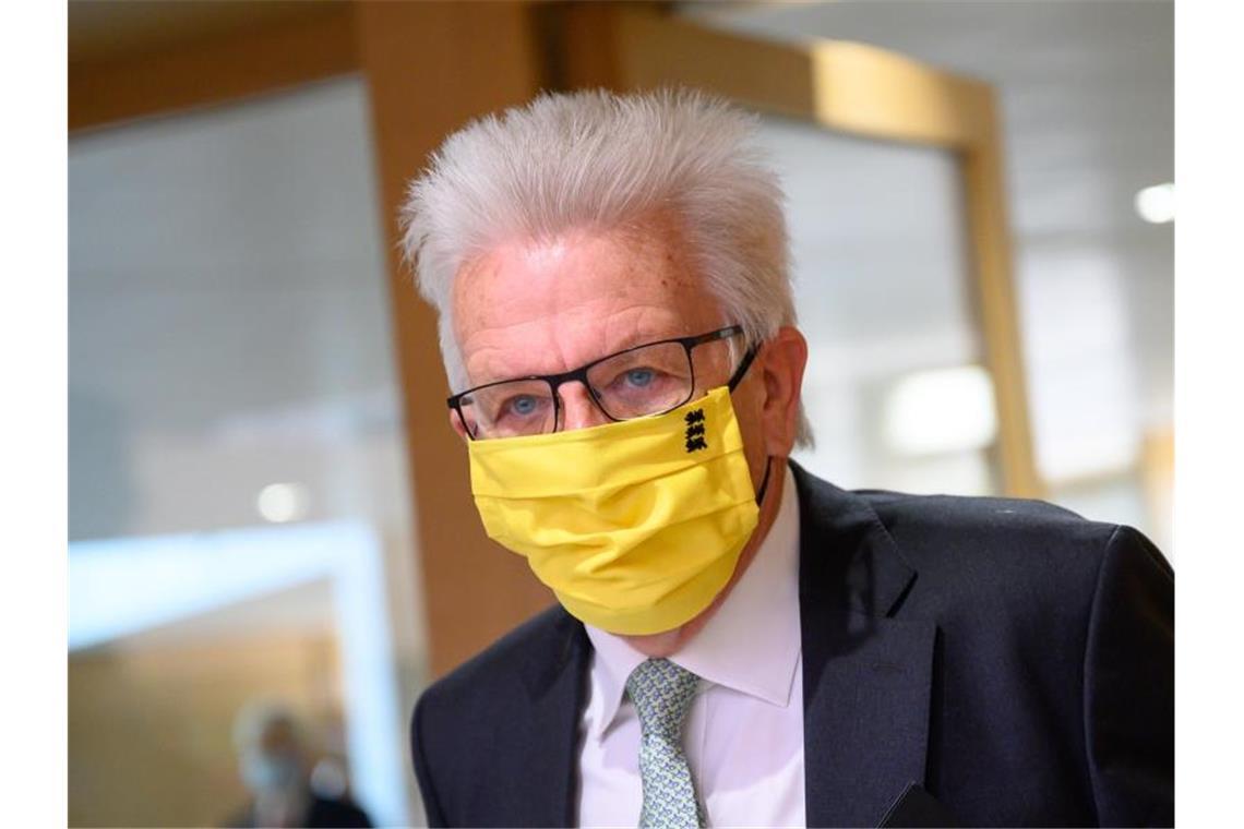 Kretschmann Ohne Maske